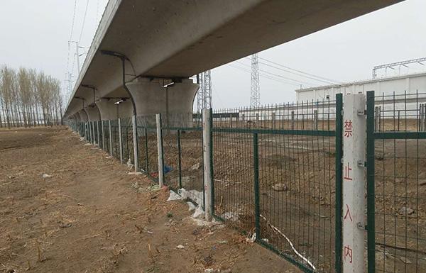 中建铁路天津分公司沈丹客专TJ-3标项目经理部
