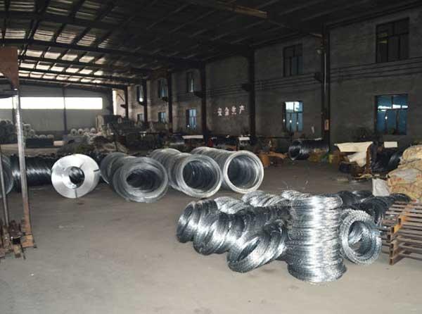 电焊石笼网生产车间