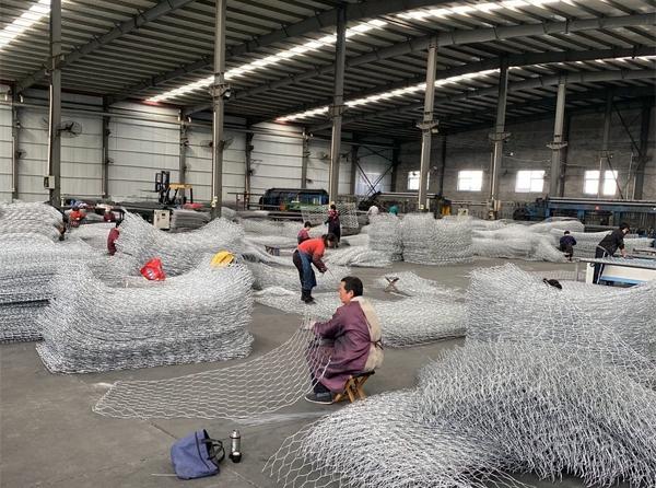 石笼网生产车间