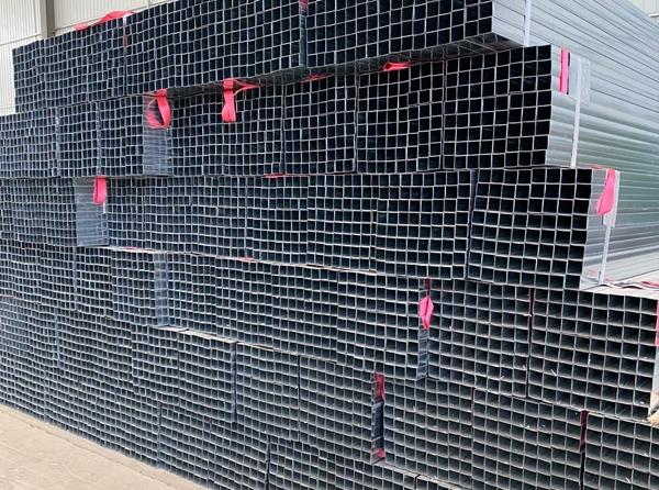 原材料钢管生产车间